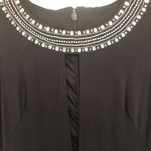 Bebe Dresses - Black Rhinestone Bebe Cocktail Dress